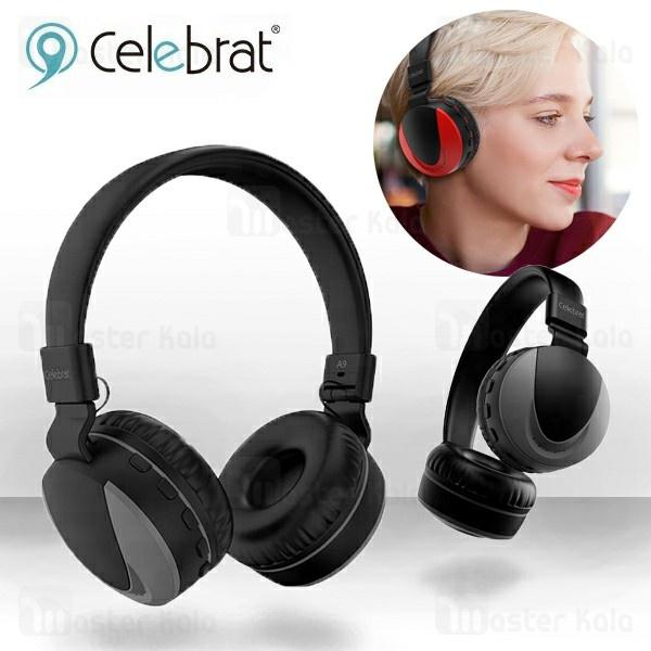 هدفون بلوتوث وایسون Yison Celebrat A9 Bluetooth Headphone رم خور