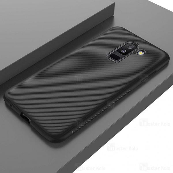 قاب ژله ای طرح فیبر کربنی Kugi سامسونگ Samsung Galaxy A6 Plus 2018