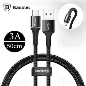 کابل میکرو یو اس بی بیسوس Baseus Halo Data Cable CAMGH-A01 به طول 50 سانتی متر