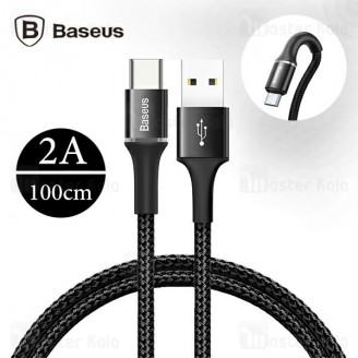 کابل Type-C بیسوس Baseus Halo Data Cable CATGH-B01 به طول 100 سانتی متر