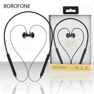 هندزفری بلوتوث بروفون Borofone BE23 Bluetooth Headset طراحی گردنی و مگنتی