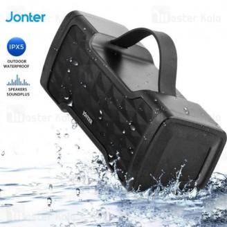 اسپیکر بلوتوث جانتر Jonter M91 24W IPX5 Bluetooth Speaker رم خور و ضدآب