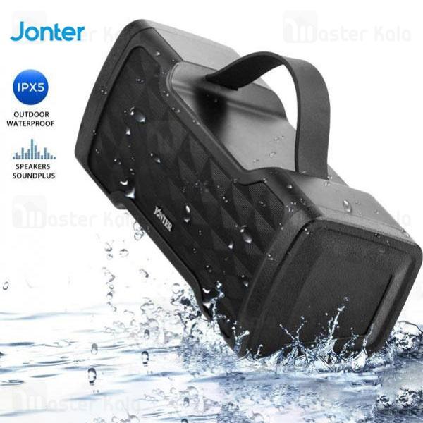 اسپیکر بلوتوث جانتر Jonter M91 IPX5 Bluetooth Speaker رم خور و ضدآب