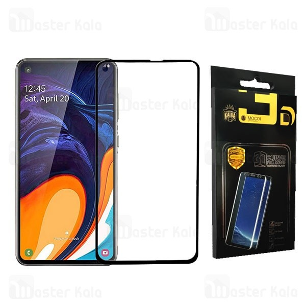 محافظ صفحه شیشه ای تمام صفحه تمام چسب سامسونگ Samsung Galaxy A60 Mocol Glass