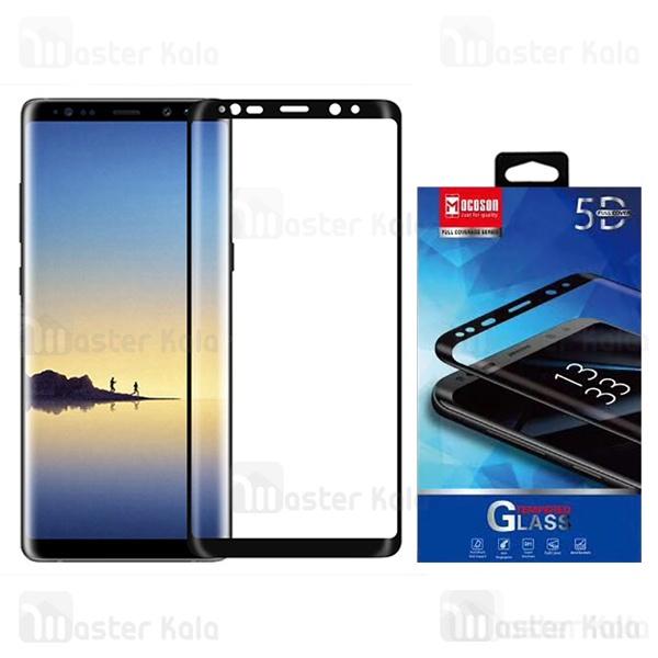 محافظ صفحه شیشه ای تمام صفحه و تمام چسب Samsung Galaxy Note 8 Mocoson