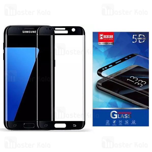 محافظ صفحه شیشه ای تمام صفحه و تمام چسب Samsung Galaxy S7 Edge Mocoson