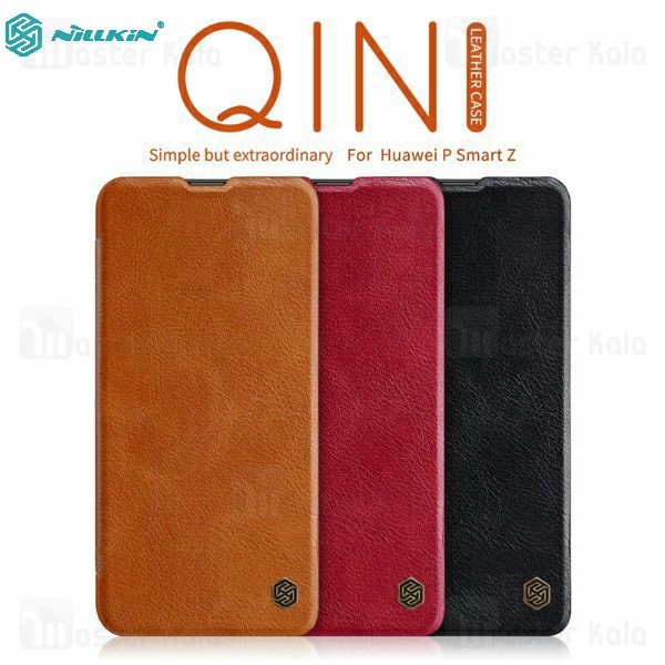کیف چرمی نیلکین هواوی Huawei P Smart Z 2019 Nillkin Qin Leather Case