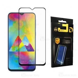 محافظ صفحه شیشه ای تمام صفحه تمام چسب سامسونگ Samsung Galaxy M20 Mocol Glass