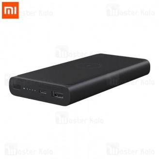 پاوربانک وایرلس 10000 فست شارژ شیائومی Xiaomi PLM11ZM Wireless Charger Power Bank 3A QC3