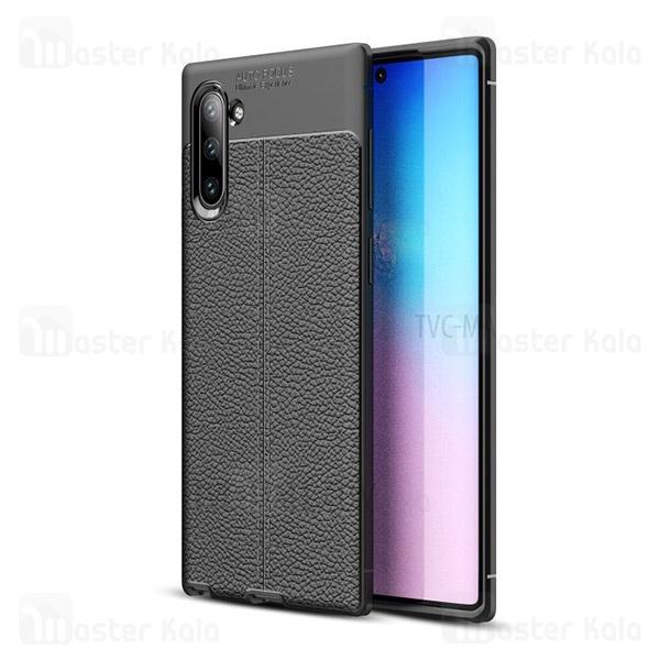قاب محافظ ژله ای طرح چرم سامسونگ Samsung Galaxy Note 10 Auto Focus