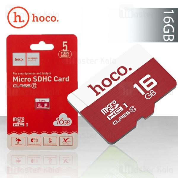 کارت حافظه میکرو اس دی 16 گیگابایت هوکو Hoco TF Card Micro-SD Class 10 16GB
