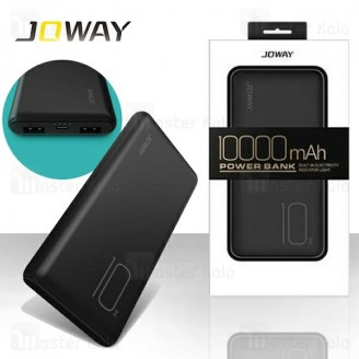 پاوربانک 10000 میلی آمپر جووی Joway JP-197 Power Bank توان 2 آمپر