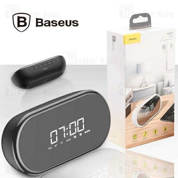 اسپیکر بلوتوث و ساعت رومیزی بیسوس Baseus Encok E09 Wireless Speaker NGE09-01