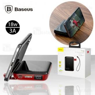 پاوربانک وایرلس 10000 میلی آمپر بیسوس Baseus Mini S Bracket PPXFF10W-01 طراحی مینی