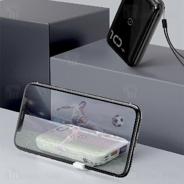 پاوربانک وایرلس 10000 میلی آمپر بیسوس Baseus Mini S Bracket PPXFF10W-19 طراحی مینی