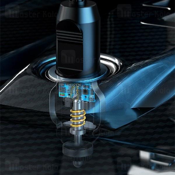 کمپرسور باد بیسوس Baseus Smart Inflator Pump CRCQB01-01 دارای چراغ LED