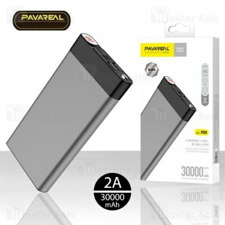 پاوربانک 30000 میلی آمپر Pavareal PB58 30000mAh Power Bank دو پورت
