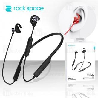 هندزفری بلوتوث Rock Space Mutop BTE-301 Bluetooth Headset طراحی گردنی و مگنتی