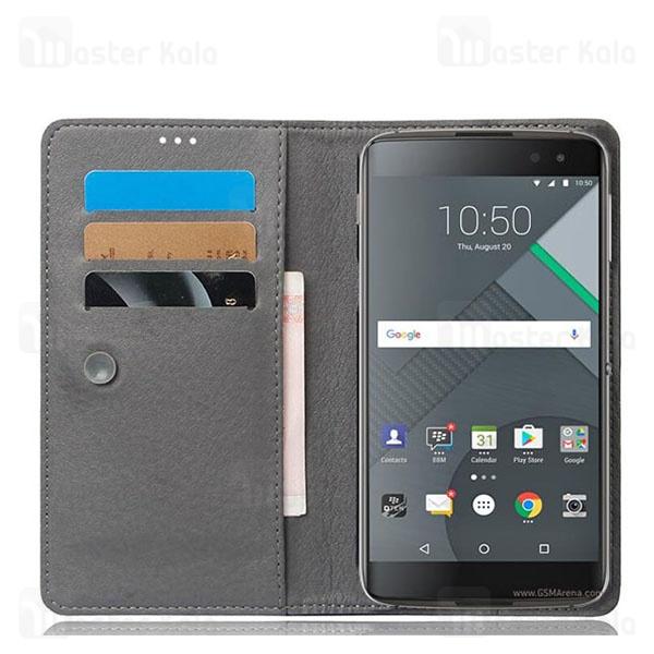 کیف طرح چرم بلک بری BlackBerry Dtek60 Leather Case