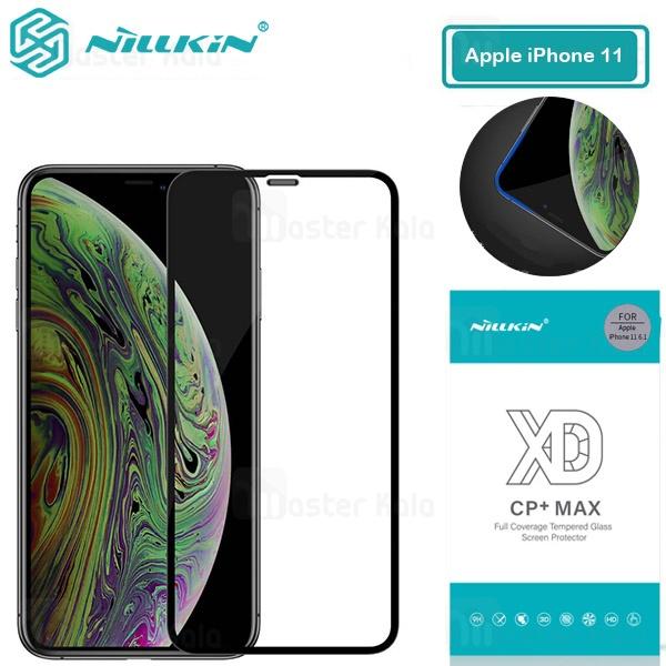 محافظ صفحه شیشه ای تمام صفحه تمام چسب نیلکین Apple iPhone 11 XD CP+ Max