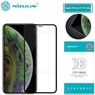 محافظ صفحه شیشه ای تمام صفحه تمام چسب نیلکین Apple iPhone 11 Pro Max XD CP+ Max