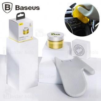 ژل تمیزکننده بیسوس Baseus Car Cleaning Kit TZCRLE-0Y به همراه دستکش