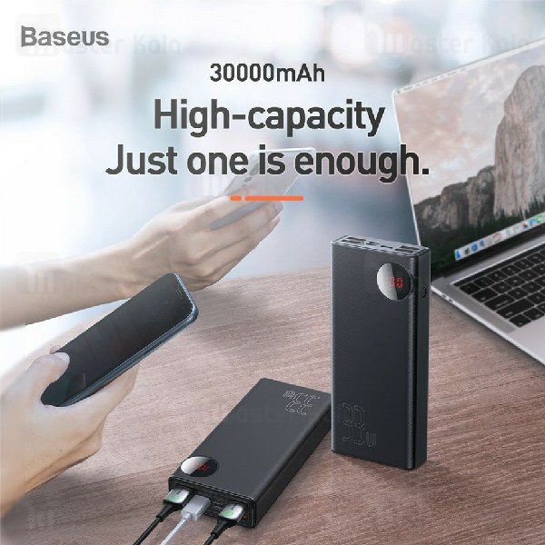 پاوربانک 30000 فست شارژ بیسوس Baseus Mulight QC3.0 30000mAh 33W PPMY-01 PD پنج پورت