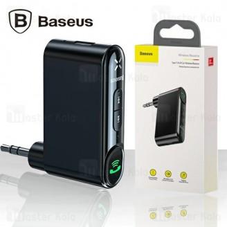 گیرنده بلوتوث اتومبیل بیسوس Baseus Qiyin AUX Car Bluetooth Receiver WXQY-01