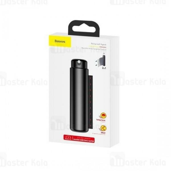 اسپری تمیز کننده و دستمال بیسوس Baseus Rearview Mirror Rainproof Sprayer CRFYJ-01