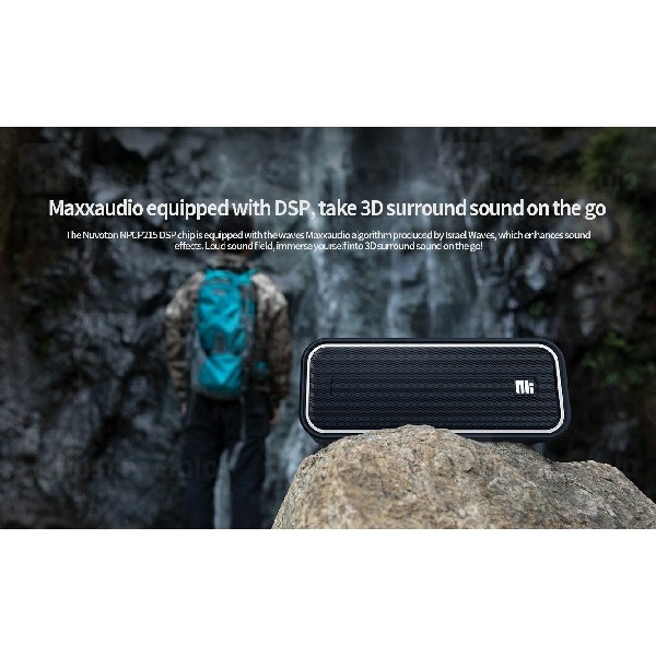 اسپیکر بلوتوث نیلکین Nillkin W2 IPX7 Bluetooth Speaker رم خور و ضدآب