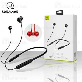 هندزفری بلوتوث Usams YD001 Sport Bluetooth Headset طراحی گردنی و مگنتی