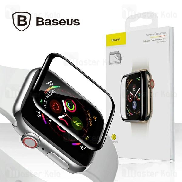 محافظ نانو تمام صفحه بیسوس اپل واچ Baseus Screen Protector Apple Watch 4 40mm SGAPWA4-G01