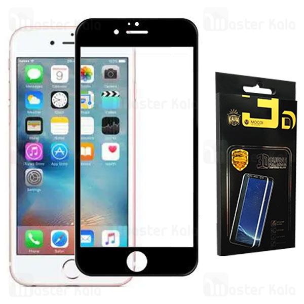محافظ صفحه شیشه ای تمام صفحه تمام چسب آیفون Apple iPhone 6 / 6S Mocol 10D Glass