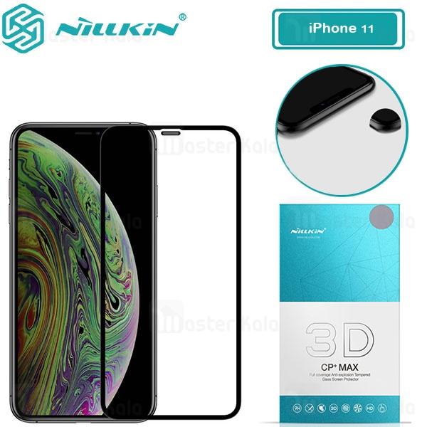 محافظ صفحه شیشه ای تمام صفحه نیلکین آیفون Apple iPhone 11 3D CP+ Max