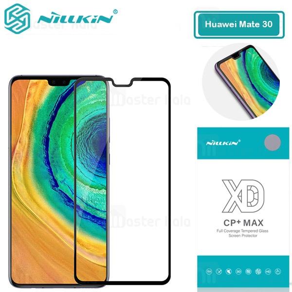 محافظ صفحه شیشه ای تمام صفحه تمام چسب نیلکین Huawei Mate 30 XD CP+ Max