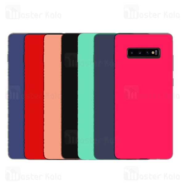 قاب سیلیکونی سامسونگ Samsung Galaxy S10 Plus Silicone Full Cover