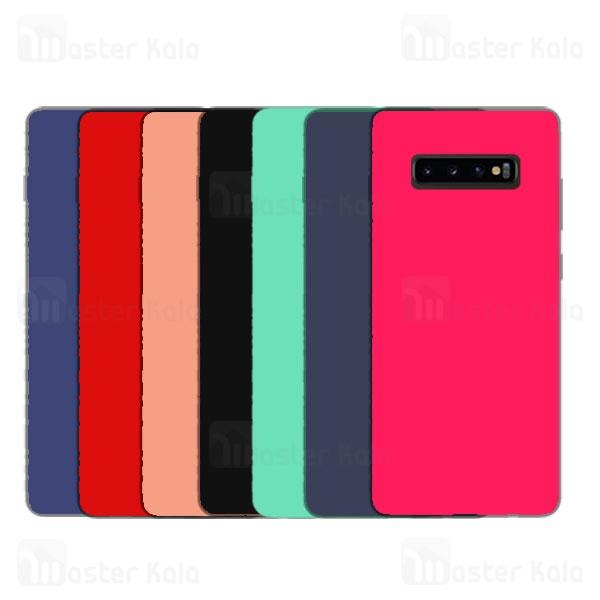 قاب سیلیکونی سامسونگ Samsung Galaxy S10 Plus Silicone Full Cover