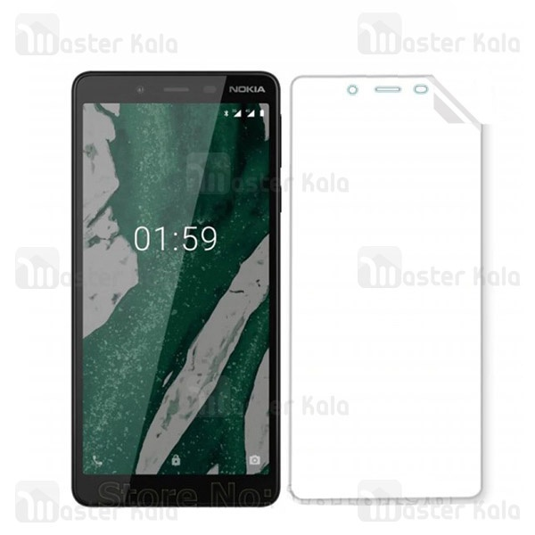 محافظ نانو تمام صفحه نوکیا Nokia 1 Plus Full Screen Protector