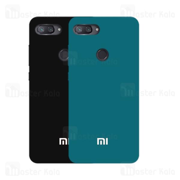 قاب سیلیکونی شیائومی Xiaomi Mi 8 Lite Silicone Full Cover