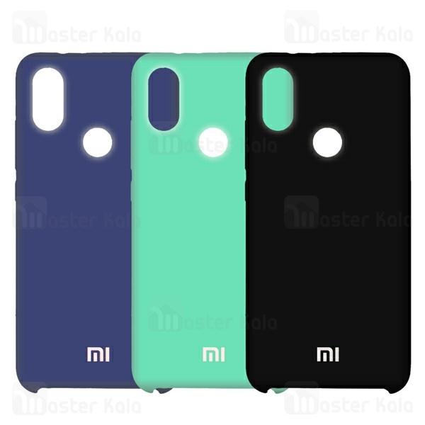 قاب سیلیکونی شیائومی Xiaomi Mi 8 / Mi8 Silicone Full Cover