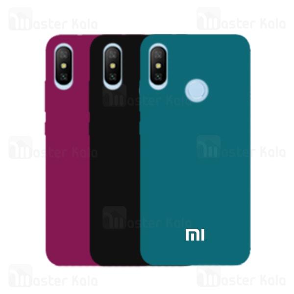 قاب سیلیکونی شیائومی Xiaomi Mi A2 Lite / Redmi 6 Pro Silicone Full Cover