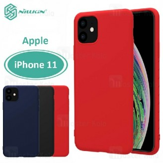 قاب محافظ نیلکین اپل Apple iPhone 11 Nillkin Rubber Wrapped case
