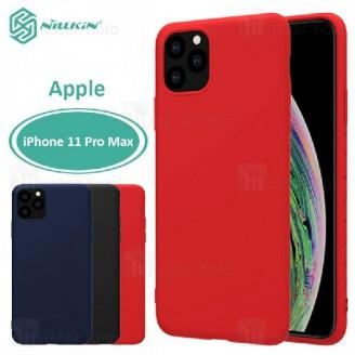قاب محافظ نیلکین اپل Apple iPhone 11 Pro Max Nillkin Rubber Wrapped case