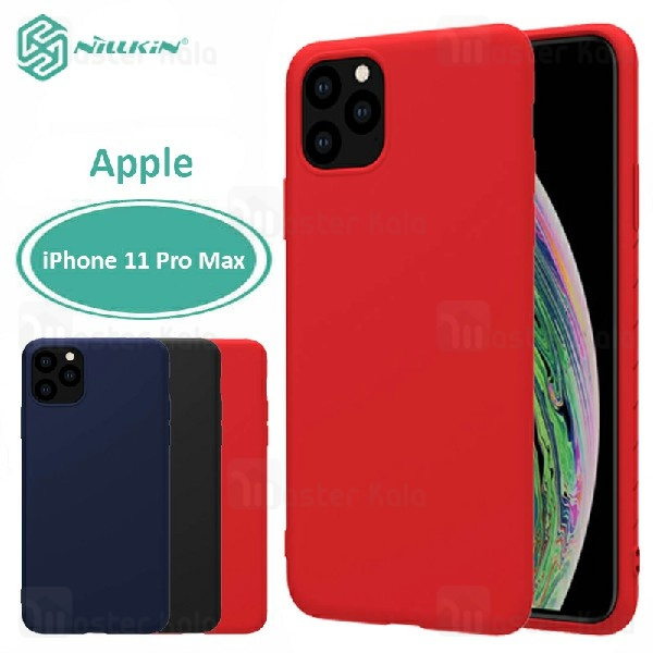 قاب محافظ نیلکین اپل Apple iPhone 11 Pro Max Nillkin Rubber Wrapped case