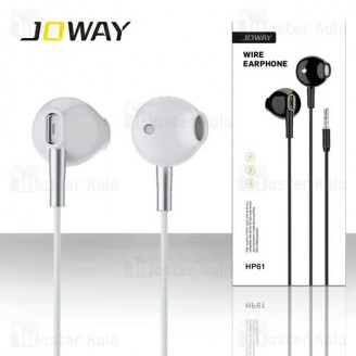 هندزفری سیمی جووی Joway HP61 Mental Wire Music Earphone طرح ایرپاد