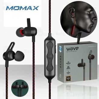 هندزفری بلوتوث مومکس Momax Wave BE2 Magnetic Earphones دارای فناوری Aptx