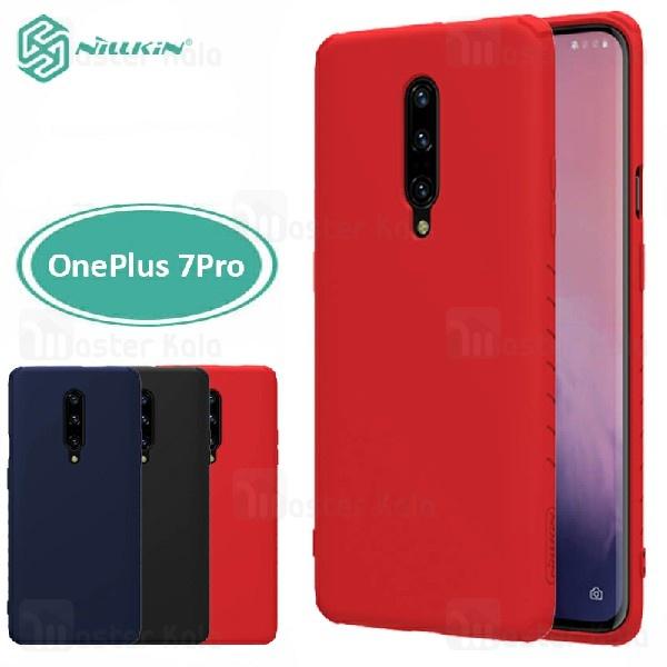 قاب محافظ نیلکین وان پلاس OnePlus 7 Pro Nillkin Rubber Wrapped case