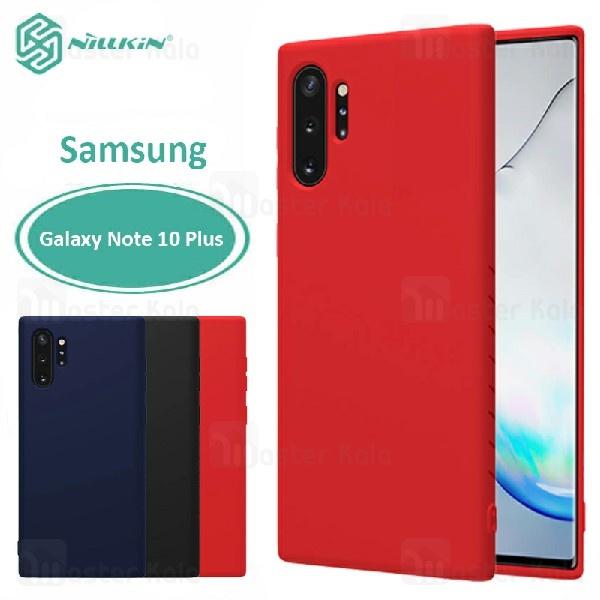 قاب محافظ نیلکین سامسونگ Samsung Galaxy Note 10 Plus Nillkin Rubber Wrapped case