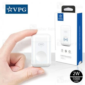 شارژر و پاوربانک وایرلس 1000 میلی آمپر VPG WPB01 Cybertron مناسب iWatch