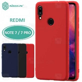 قاب محافظ نیلکین شیائومی Xiaomi Redmi Note 7 / 7 Pro Nillkin Rubber Wrapped case